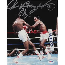 "Sugar Ray Leonard  Tommy ""Hitman"" Hearns Signed 8x10 Photo (PSA COA)"
