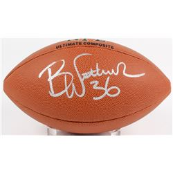 Brian Westbrook Signed NFL Football (Beckett COA)