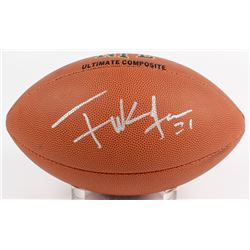 Frank Gore Signed NFL Football (Beckett COA)