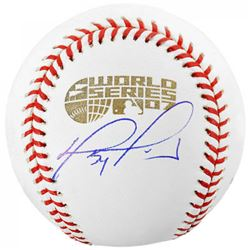 David Ortiz Signed 2007 World Series Baseball (Fanatics  MLB Hologram)