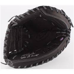 "A. J. Pierzynski Signed Wilson Model A360 Baseball Catchers Glove Inscribed ""2005 WS Champs"" (Schwar"