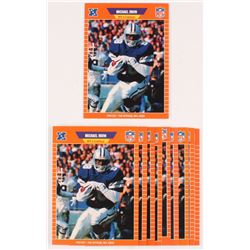 Lot of (10) 1989 Pro Set #89 Michael Irvin RC