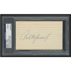 Bobby Jones Signed 3x5 Cut (PSA Encapsulated)