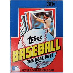 1982 Topps Baseball Box of (36) Packs