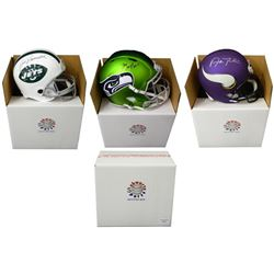 Schwartz Sports Football Superstar Signed Full Size Football Helmet Mystery Box - Series 1 (Limited