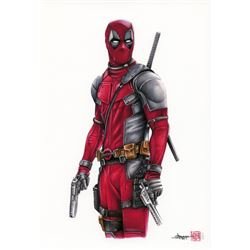 Thang Nguyen - Deadpool 8x12 Signed Limited Edition Giclee on Fine Art Paper #/25