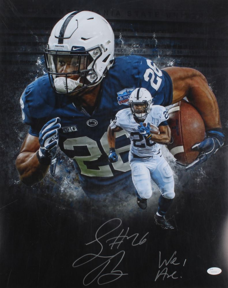 cb1e255d9 Image 1   Saquon Barkley Signed Penn State Nittany Lions 16x20 Photo  Inscribed