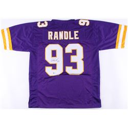 John Randle Signed Vikings Jersey (Beckett COA)