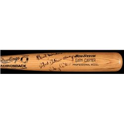 "Gary Carter Signed Game-Used Rawlings Pro Model Big Stick Baseball Bat Inscribed ""Best Wishes""  ""God"
