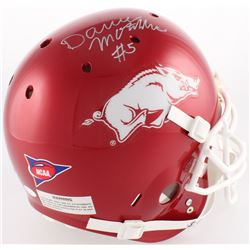 Darren McFadden Signed Arkansas Razorbacks Full-Size Authentic On-Field Helmet (JSA COA)