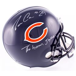 "Tarik Cohen Signed Bears Full-Size Helmet Inscribed ""The Human Joystick"" (Schwartz COA)"
