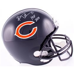"Brian Urlacher Signed Bears Full-Size Helmet Inscribed ""HOF 2018"" (Schwartz COA)"
