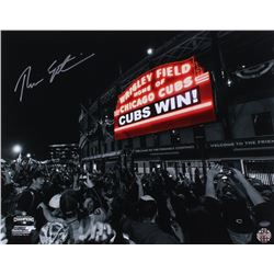 Theo Epstein Signed Cubs 16x20 Photo (Schwartz COA)