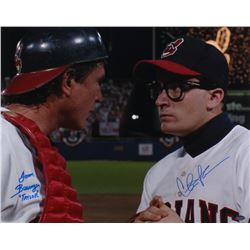 "Charlie Sheen  Tom Berenger Signed ""Major League"" 16x20 Photo Inscribed ""Taylor"" (Schwartz COA)"