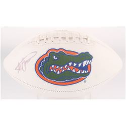 Steve Spurrier Signed Florida Gators Logo Football (Radtke COA)
