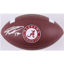 Kenyan Drake Signed Alabama Crimson Tide Logo Football (Schwartz COA)