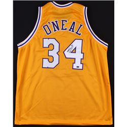 Shaquille O'Neal Signed Lakers Jersey (Schwartz COA)