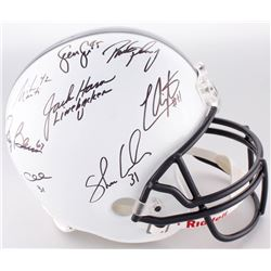 Penn State Nittany Lions Full-Size Helmet Signed by (8) With LaVar Arrington, Jack Ham, Andre Collin