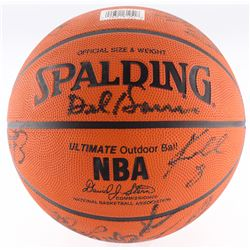 1996-97 Lakers Basketball Team-Signed by (14) with Kobe Bryant, Shaquille O'Neal, Eddie Jones, Rober