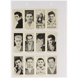 "Complete Set Of (48) 1958 D.C. Thomson ""Stars Of Sport And Entertainment"" With Elvis Presley, Floyd"