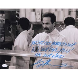 "Larry Thomas Signed ""Seinfeld"" 11x14 Photo Inscribed ""You Just Cost Yourslef a Soup"" ""No Soup For Yo"