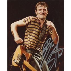 Bruce Springsteen Signed 8x10 Photo (JSA LOA)