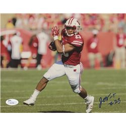 Jonathan Taylor Signed Wisconsin Badgers 8x10 Photo (JSA COA)