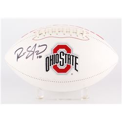 Ryan Shazier Signed Ohio State Buckeyes Logo Football (JSA COA)