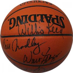 1972-73 New York Knicks World Champions Basketball Team-Signed by (6) with Walt Frazier, Willies Ree