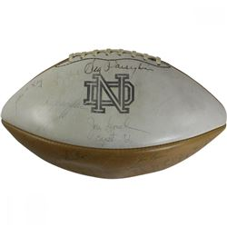 1966 Notre Dame Fighting Irish National Champions Football Team-Signed by (93) with Jim Lynch, Rocky