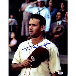 "Tom Hanks Signed ""A League of Their Own"" 11x14 Photo (PSA)"