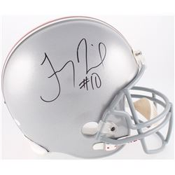 Troy Smith Signed Ohio State Buckeyes Full-Size Helmet (JSA COA)