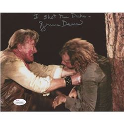 "Bruce Dern Signed ""The Cowboys"" 8x10 Photo Inscribed ""I Shot the Duke"" (JSA COA)"