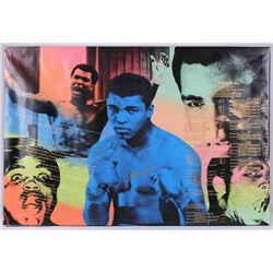 Muhammad Ali Signed 30x45 Limited Edition Steve Kaufman Pop Art Giclee on Canvas (JSA LOA)