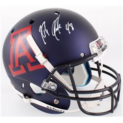 Rob Gronkowski Signed Arizona Wildcats Full-Size Matte Blue Helmet (Radtke COA)
