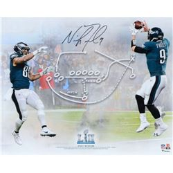 """Nick Foles Signed """"Philly Special"""" TD Play 16x20 Photo (Fanatics)"""