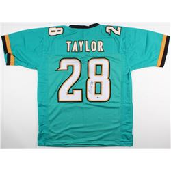 Fred Taylor Signed Jaguars Jersey (Beckett COA)