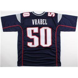 Mike Vrabel Signed Patriots Jersey (Beckett COA)