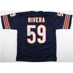 Ron Rivera Signed Bears Jersey (Beckett COA)