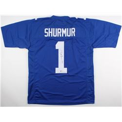 Pat Shurmur Signed Giants Jersey (Beckett COA)