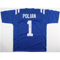 "Bill Polian Signed Colts Jersey Inscribed ""HOF 15"" (Beckett COA)"