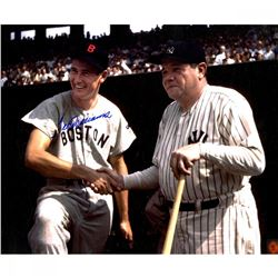 Ted Williams Signed Red Sox 20x24 Photo with Babe Ruth (Steiner COA)