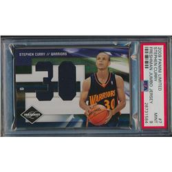 2009-10 Limited Freshmen Jumbo Jersey Numbers #7 Stephen Curry (PSA 9)