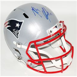 Rob Gronkowski Signed Patriots Full Size Speed Helmet (Radtke COA)