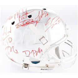 Alabama Crimson Tide Modern Greats Chrome Full-Size Helmet Signed by (20) with Mark Ingram Jr., Derr