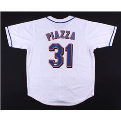 Mike Piazza Signed Mets Jersey (JSA COA)