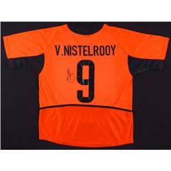 Ruud van Nistelrooy Signed Manchester United Jersey (JSA COA)