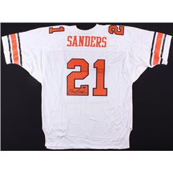 Barry Sanders Signed Oklahoma State Cowboys Jersey (Steiner COA)