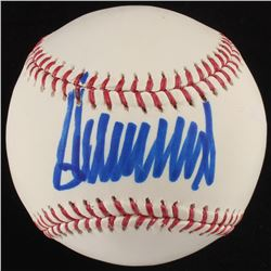 Donald Trump Signed OML Baseball (JSA COA)