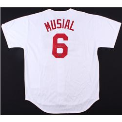 Stan Musial Signed Cardinals Jersey (TriStar Hologram  Musial COA)